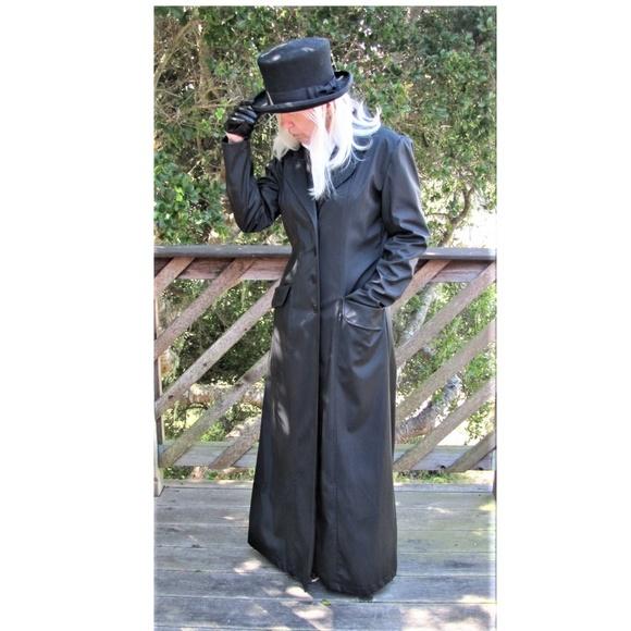 Louise Paris Jackets & Blazers - Black Maxi Coat Louise Paris-Goth like